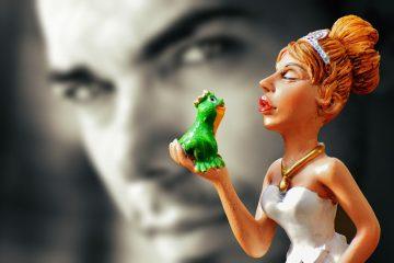 Manchmal entpuppt sich ein Frosch leider nicht als Traummann. Foto: pixabay
