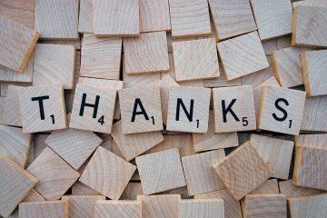 Einfach mal Danke sagen. Foto:  Wokandapix/pixabay