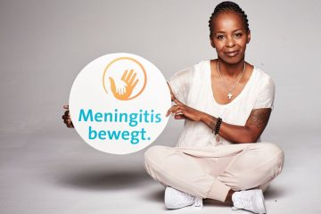 """Shary Reeves setzt sich als Kampagnenbotschafterin für """"Meningitis bewegt."""" ein. Foto: djd/GlaxoSmithKline GmbH & Co. KG"""